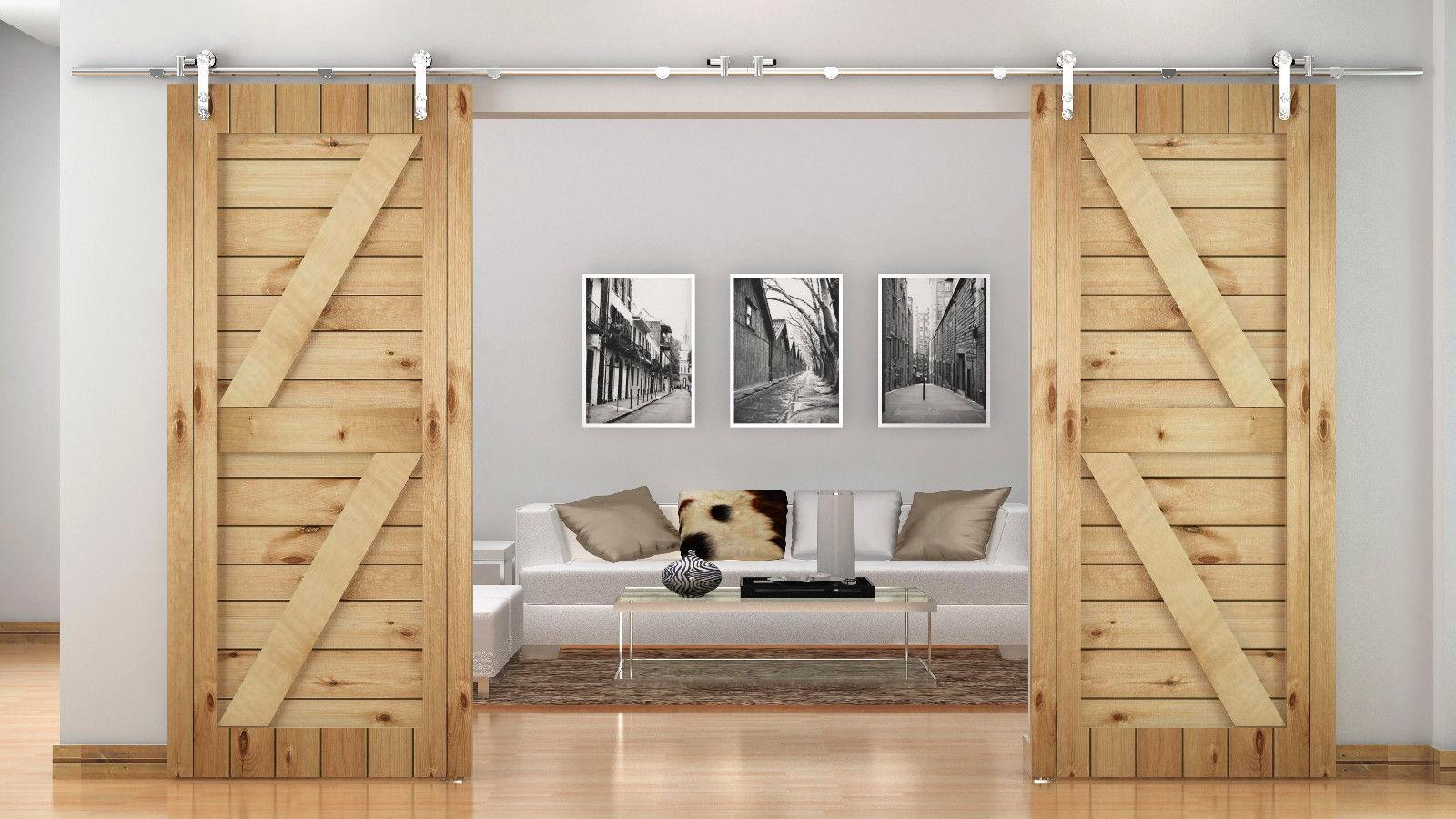 interior sliding doors barn style photo - 7