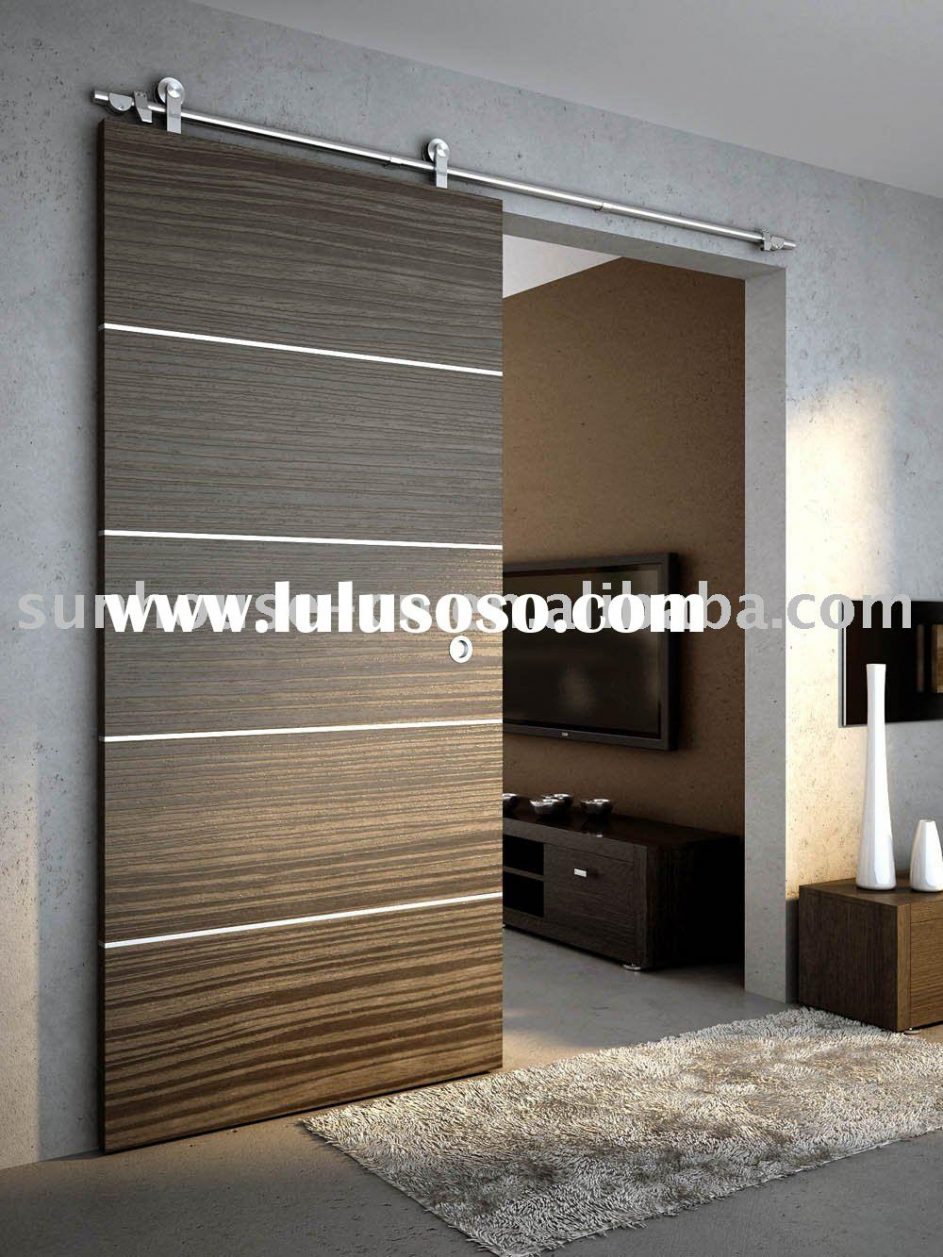interior sliding doors room dividers photo - 10