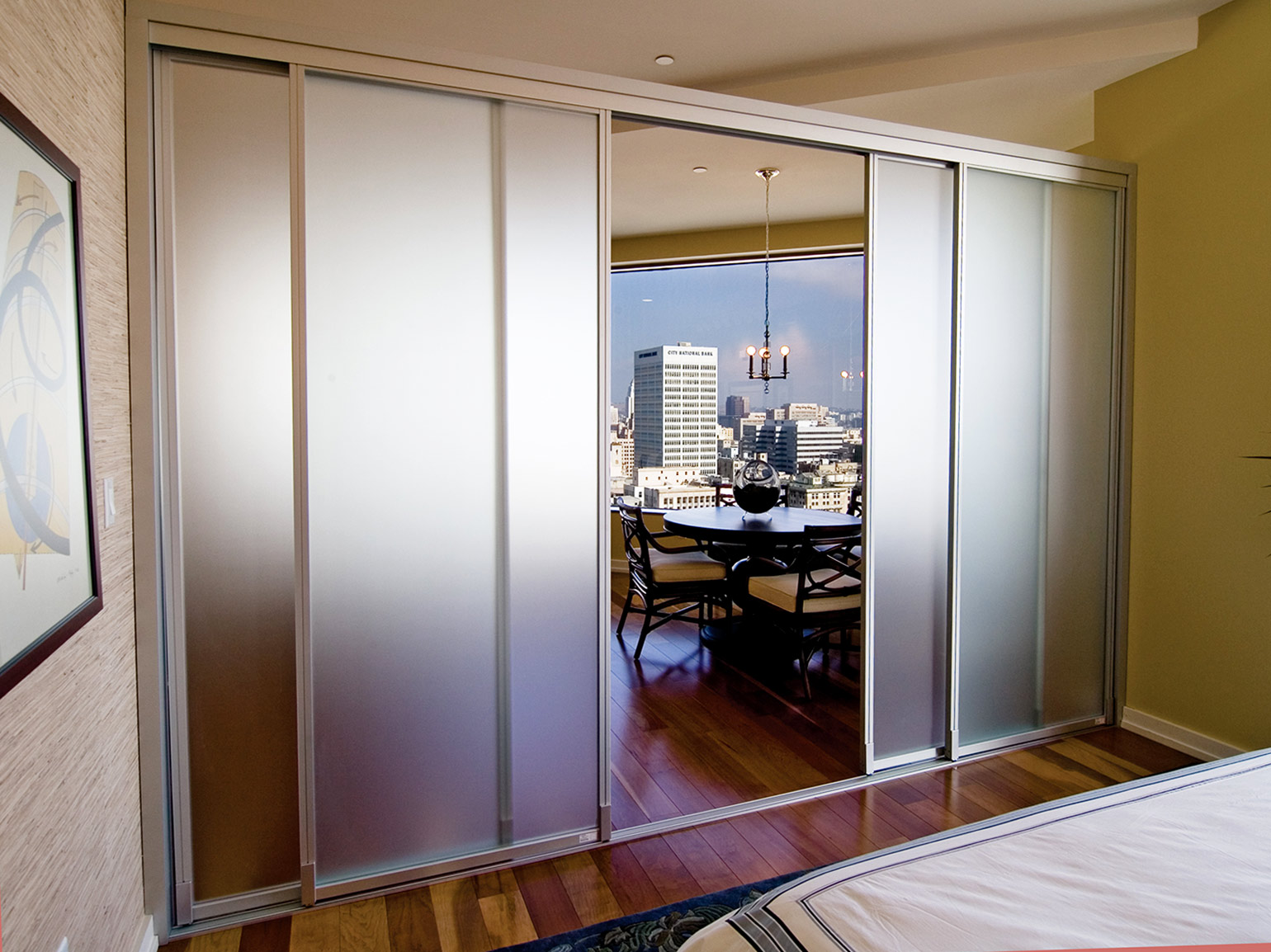 interior sliding doors room dividers photo - 7