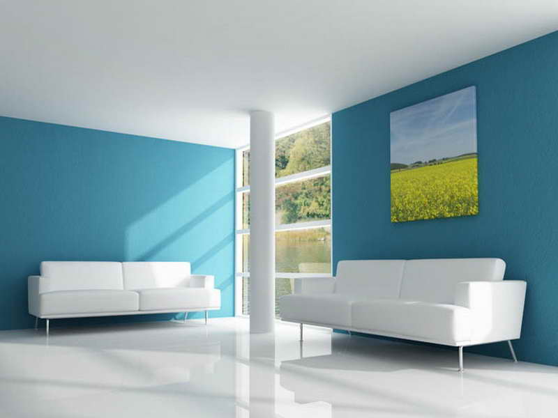 interior wall paint design ideas photo - 4
