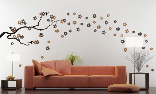 interior wall paint design ideas photo - 8