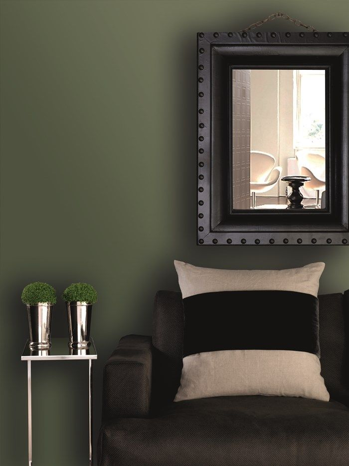 interior wall paint green photo - 4