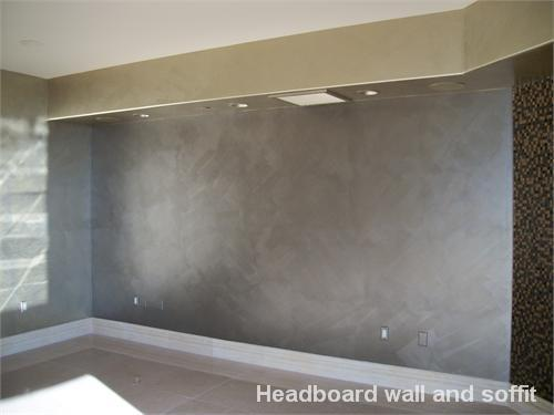 interior wall paint metallic photo - 6