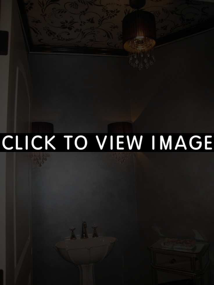 interior wall paint metallic photo - 7