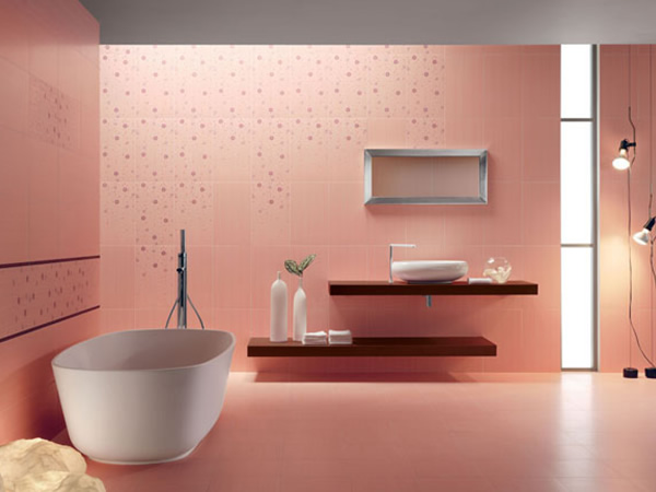 italian bathroom tile design photo - 10