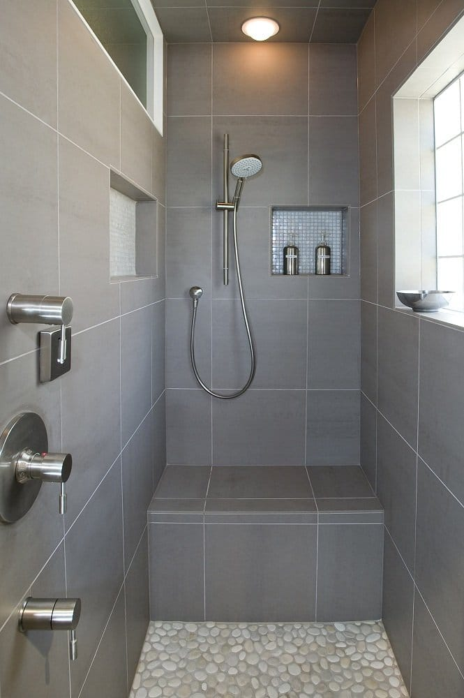 italian porcelain tile bathroom photo - 10