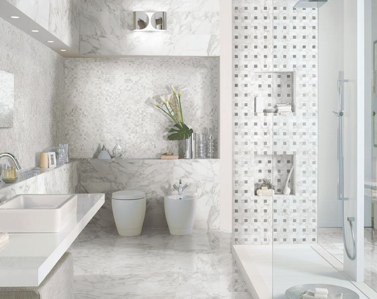 italian porcelain tile bathroom photo - 6