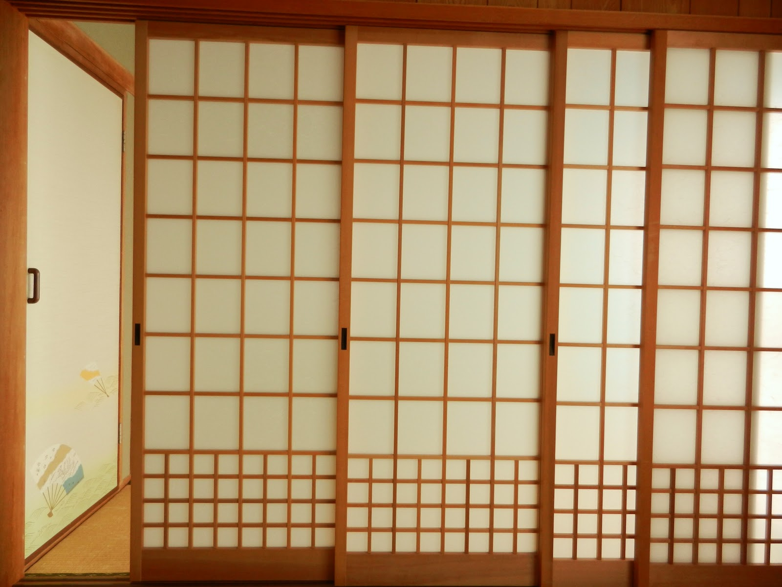 japanese sliding glass doors photo - 2