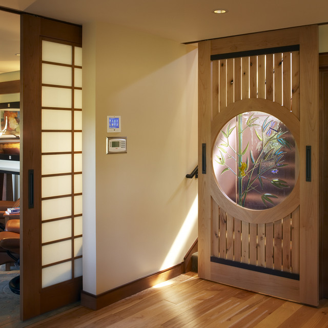 japanese sliding glass doors photo - 8