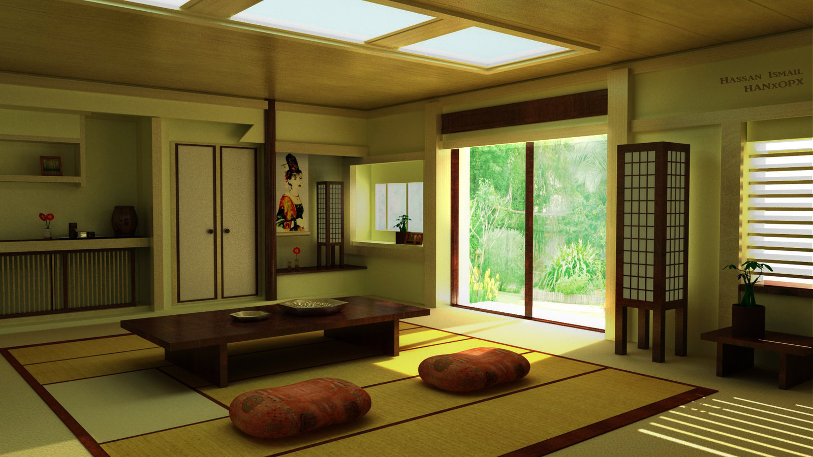 japanese style house interior photo - 10