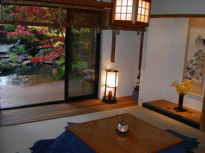japanese style house interior photo - 3