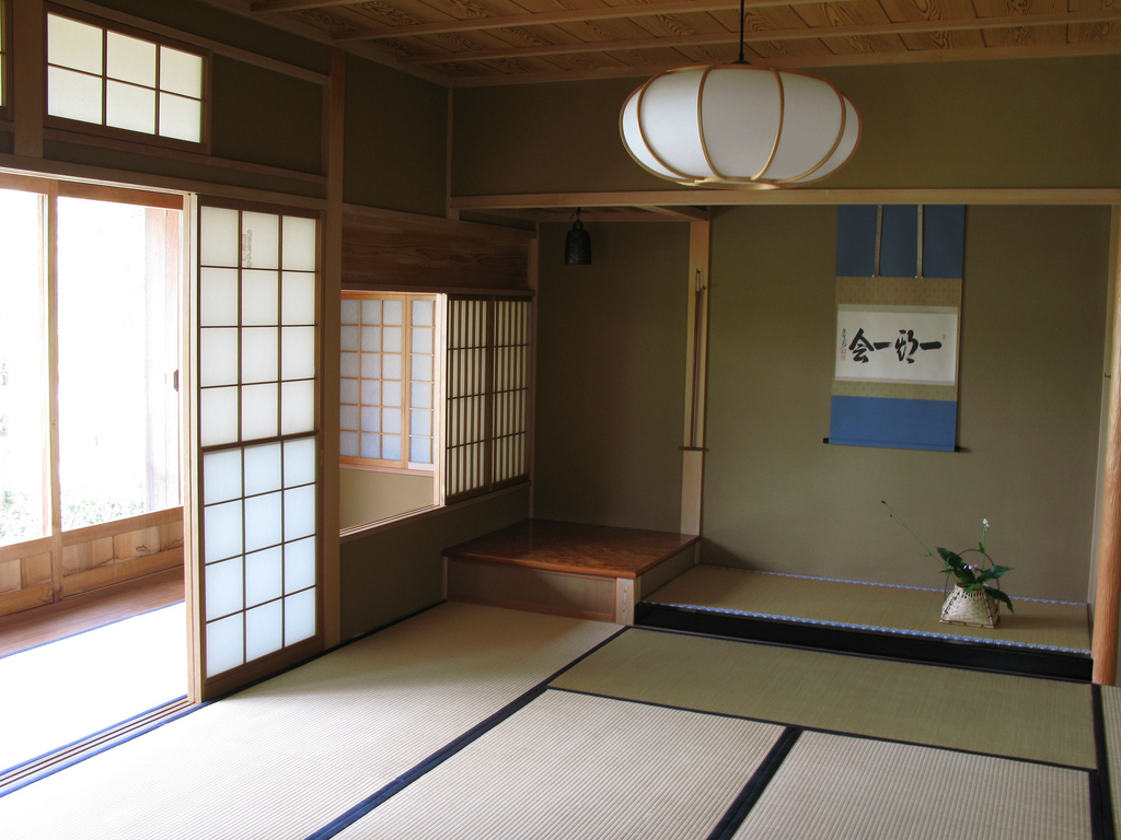 japanese style house interior photo - 5