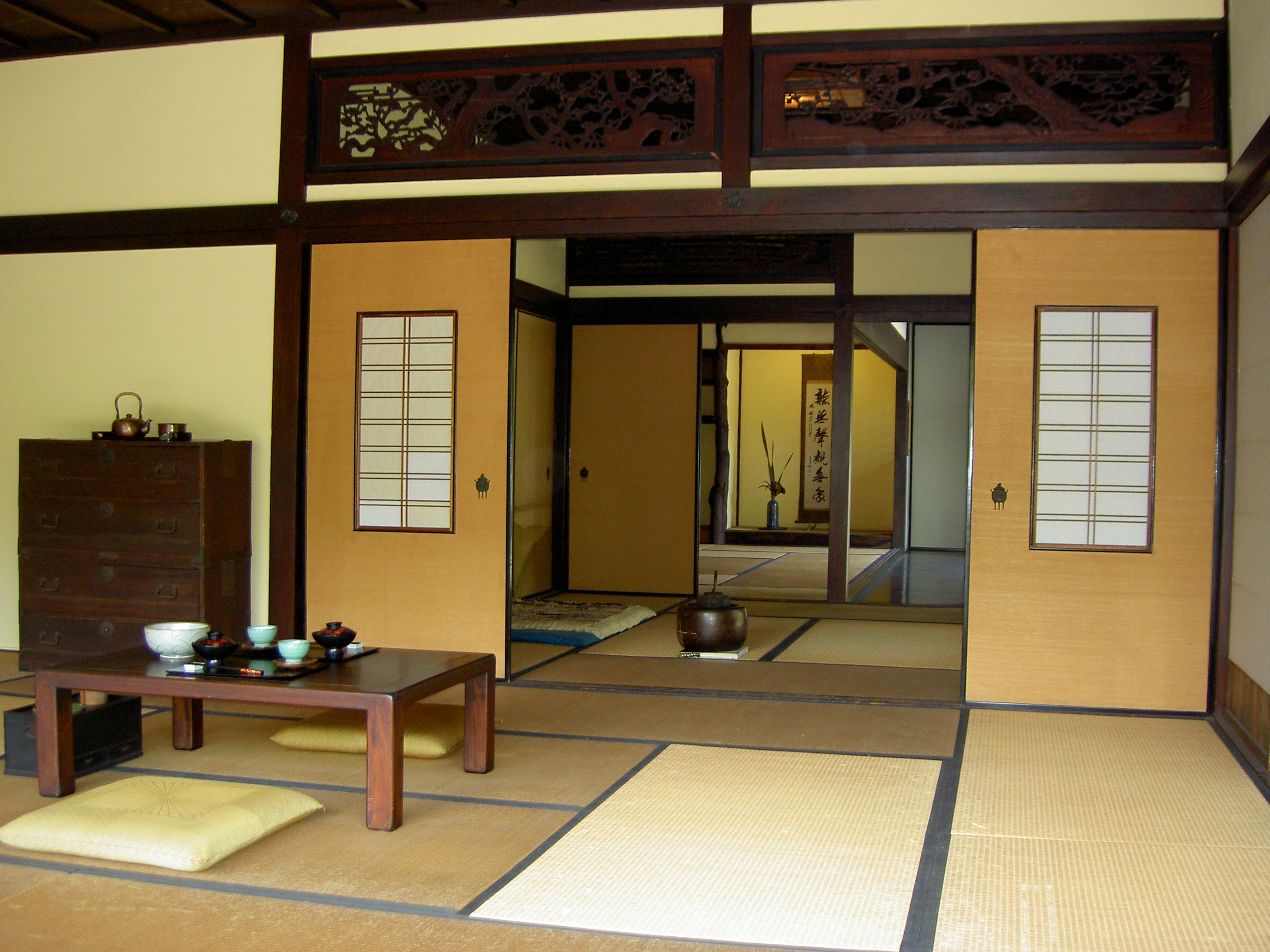 japanese style house interior photo - 7