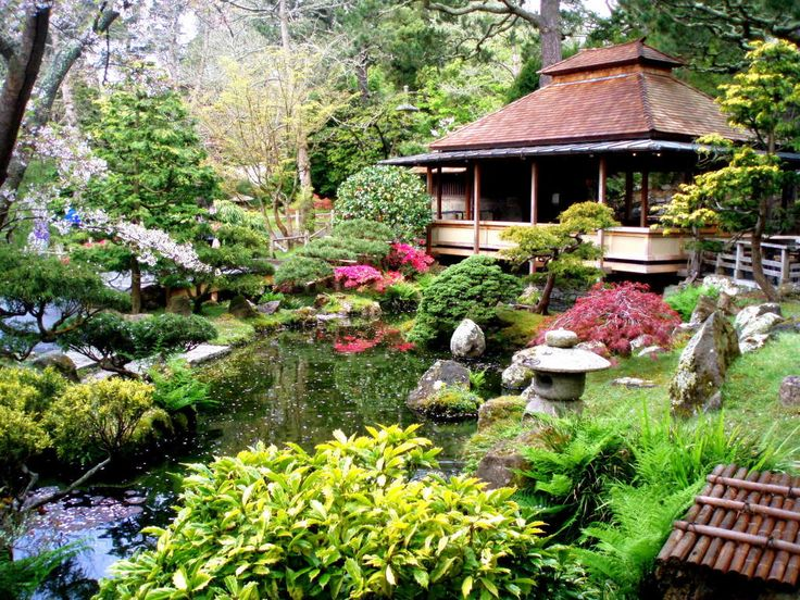 japanese tea garden design ideas photo - 8