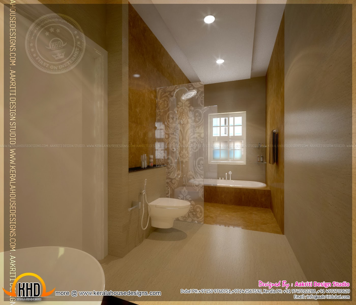 kerala home bathroom designs photo - 4