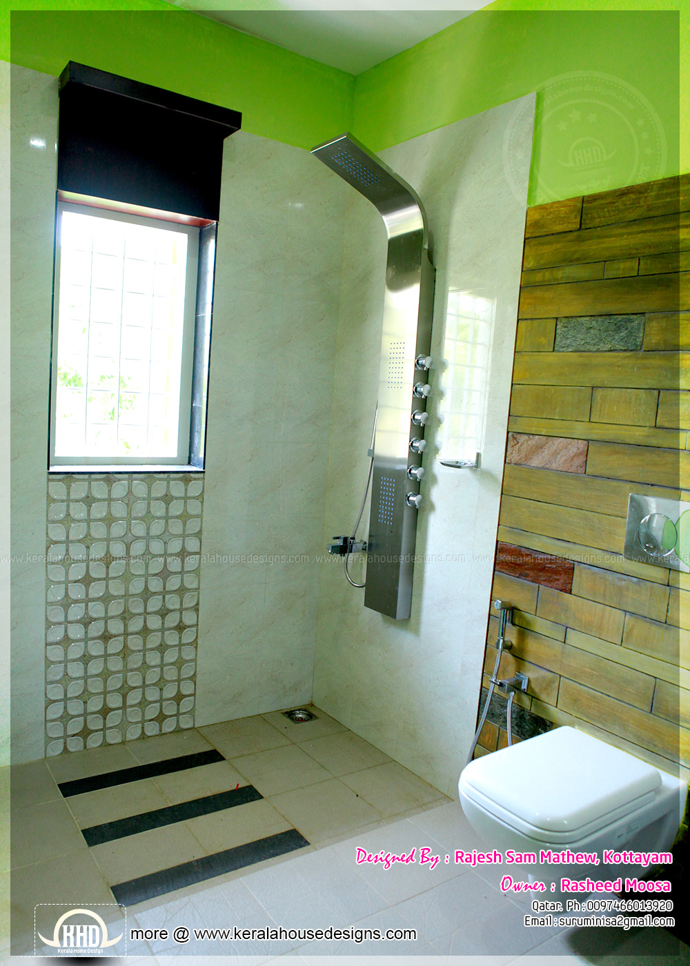 kerala home bathroom designs photo - 6
