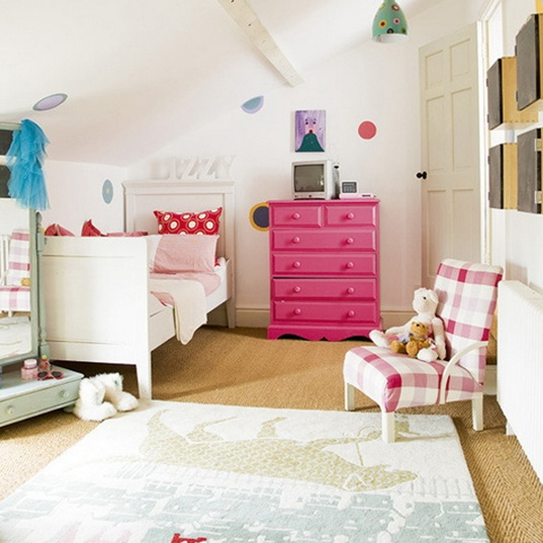 kids attic bedroom design ideas photo - 10