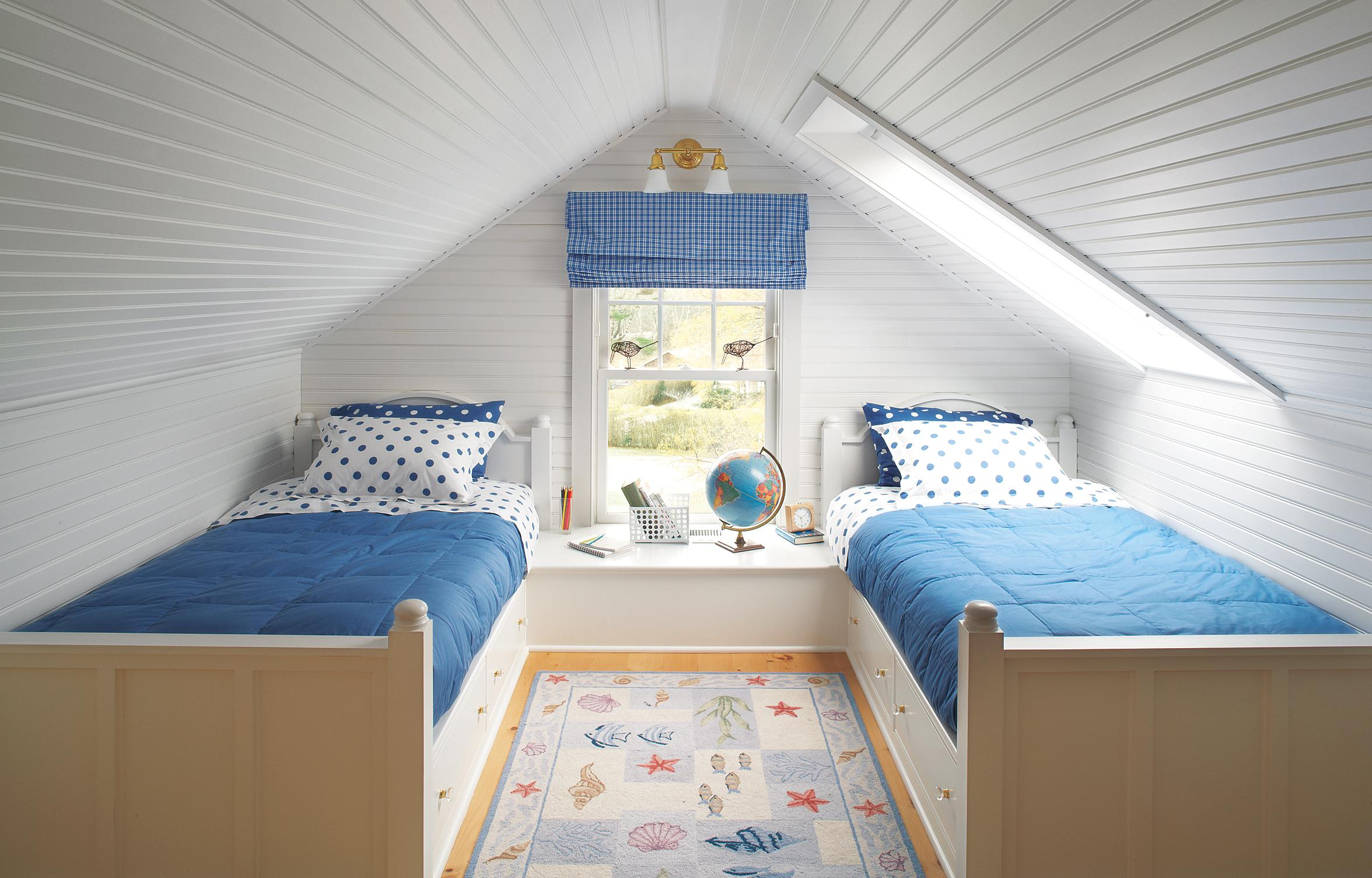 kids attic bedroom design ideas photo - 5