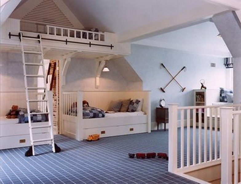 kids attic bedroom design ideas photo - 6