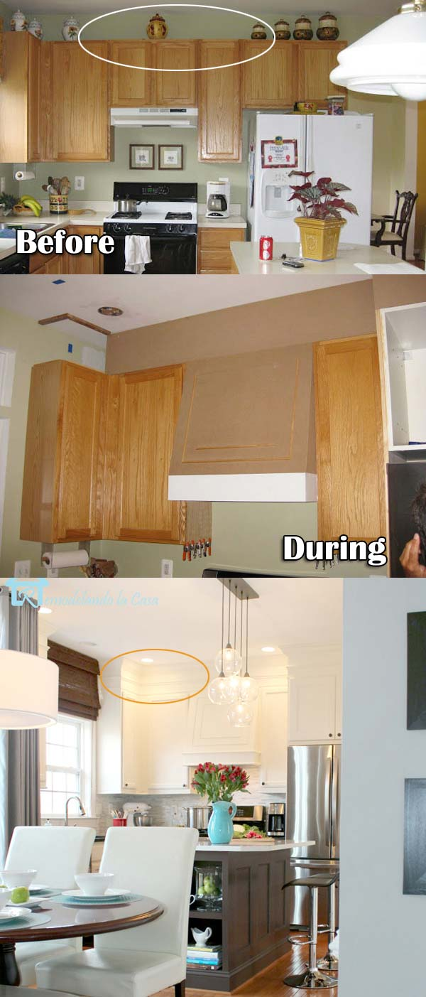 kitchen cabinet decorating ideas above photo - 10