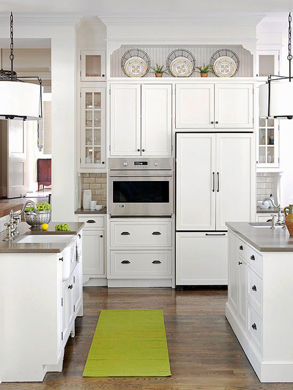 kitchen cabinet decorating ideas above photo - 3