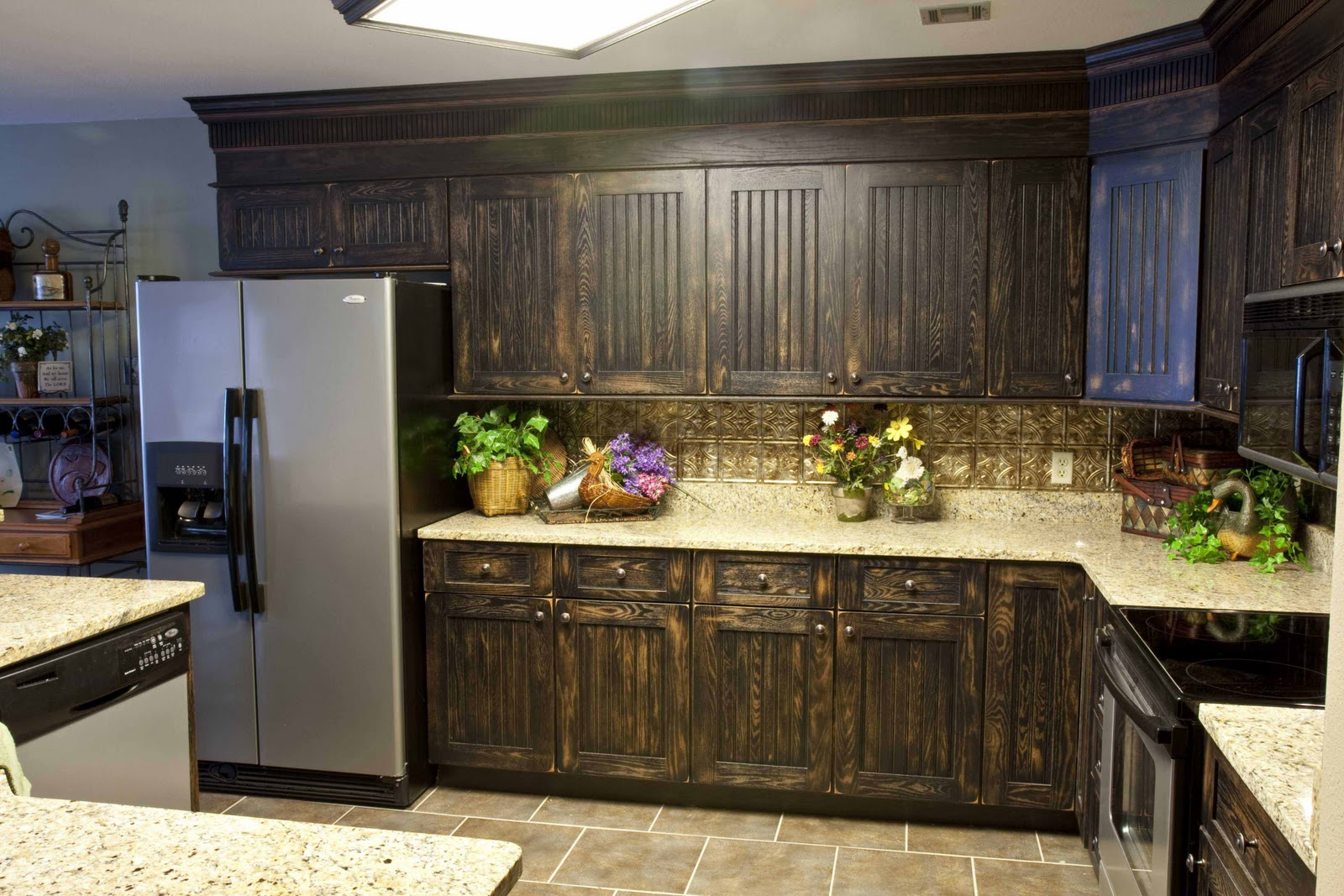 kitchen cabinet finishing ideas photo - 1