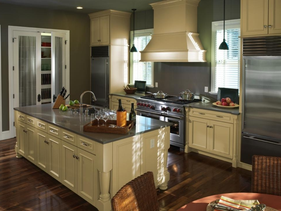 kitchen cabinet finishing ideas photo - 2