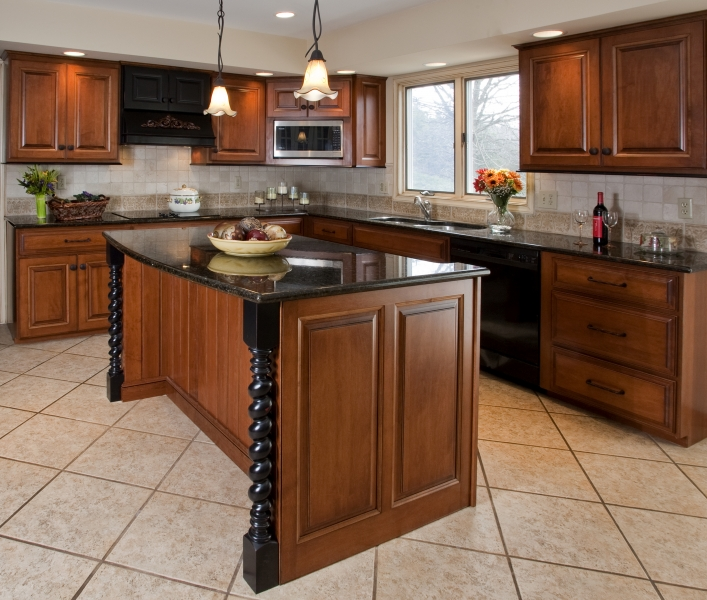 kitchen cabinet finishing ideas photo - 4
