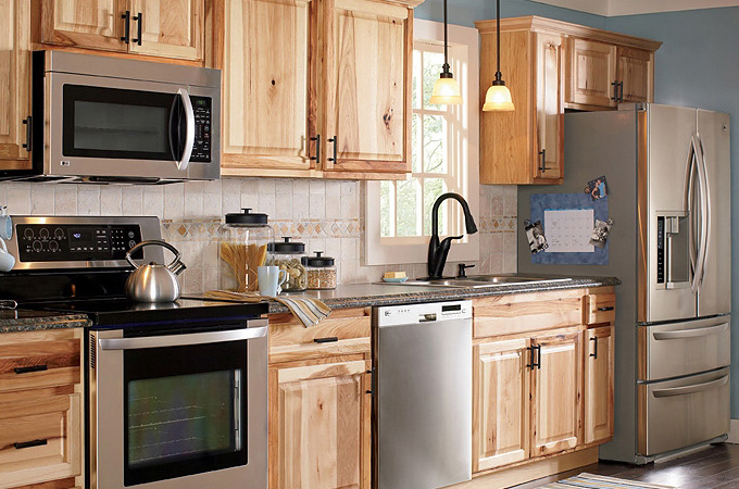kitchen cabinet finishing ideas photo - 8