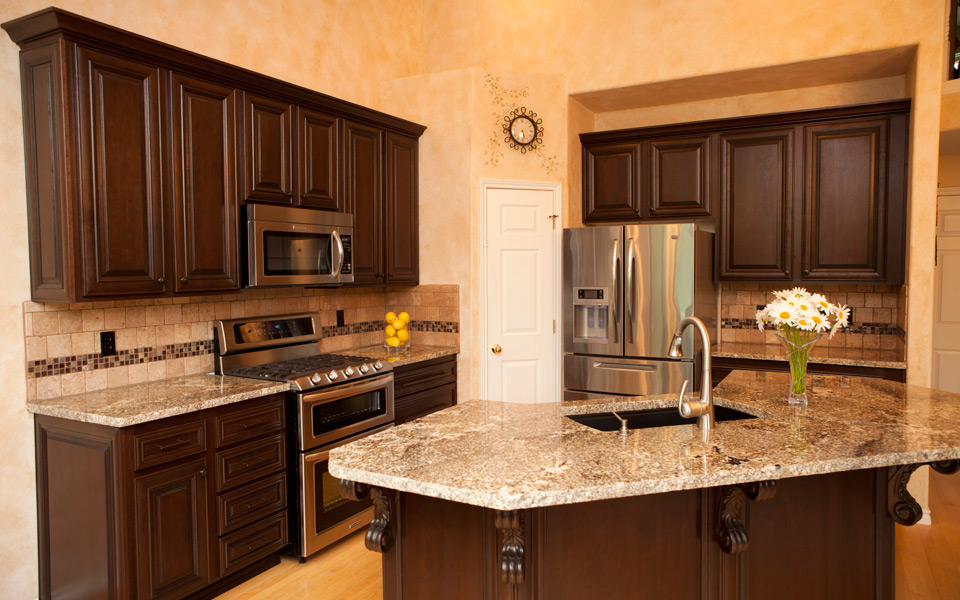 kitchen cabinet finishing ideas photo - 9