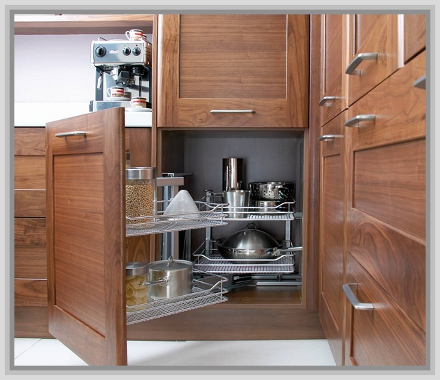 kitchen cabinet ideas for corners photo - 1