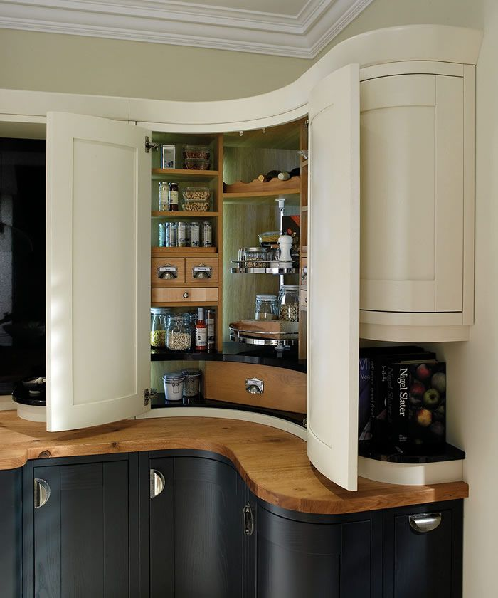 kitchen cabinet ideas for corners photo - 10
