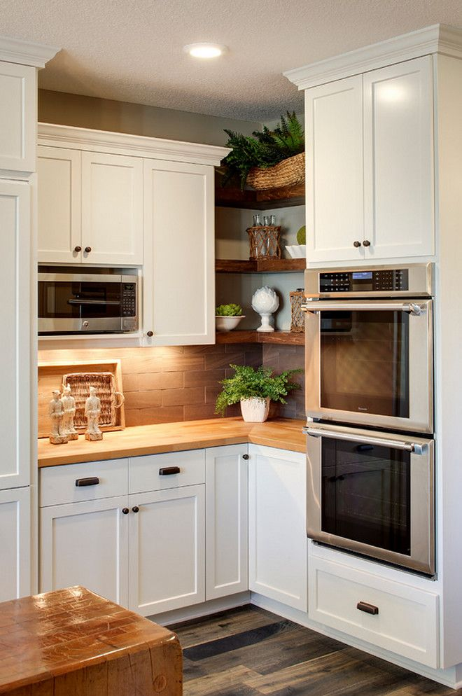 kitchen cabinet ideas for corners photo - 7