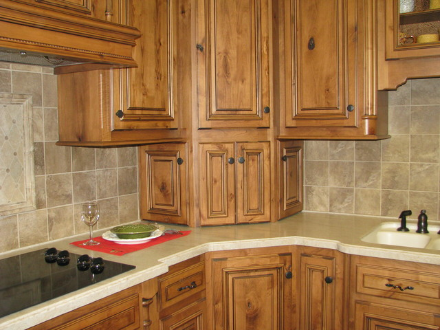 kitchen cabinet ideas for corners photo - 9