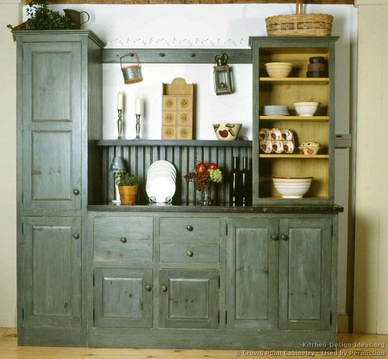 kitchen cabinet ideas rustic photo - 1