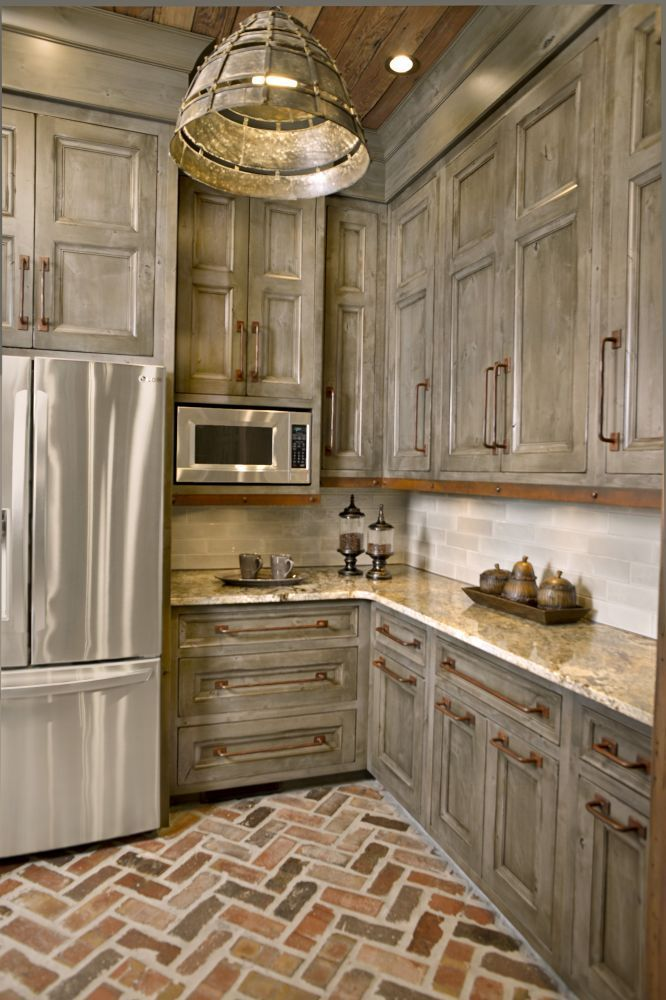 kitchen cabinet ideas rustic photo - 10