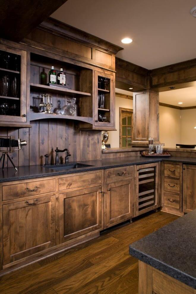 kitchen cabinet ideas rustic photo - 4