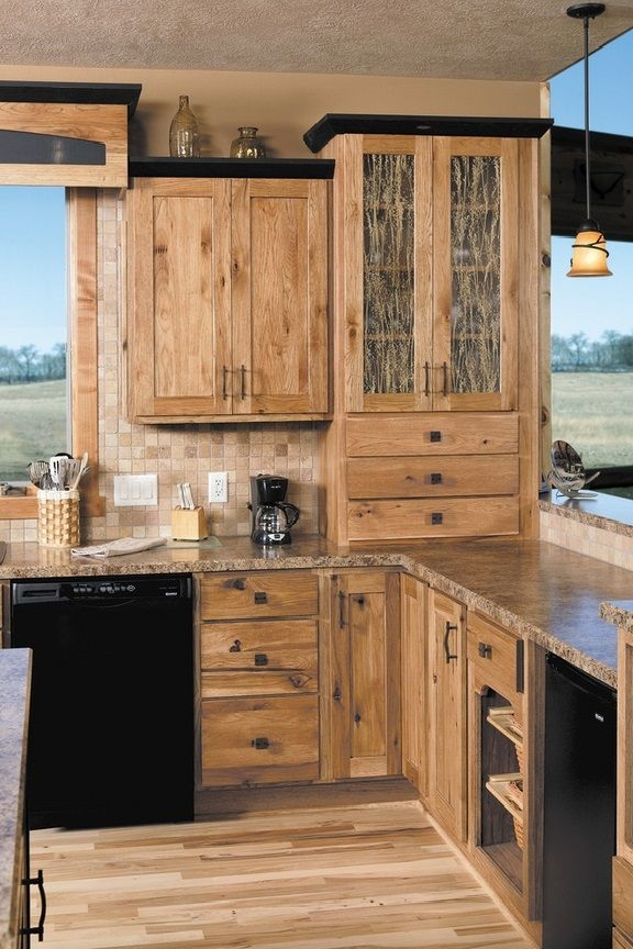 kitchen cabinet ideas rustic photo - 7