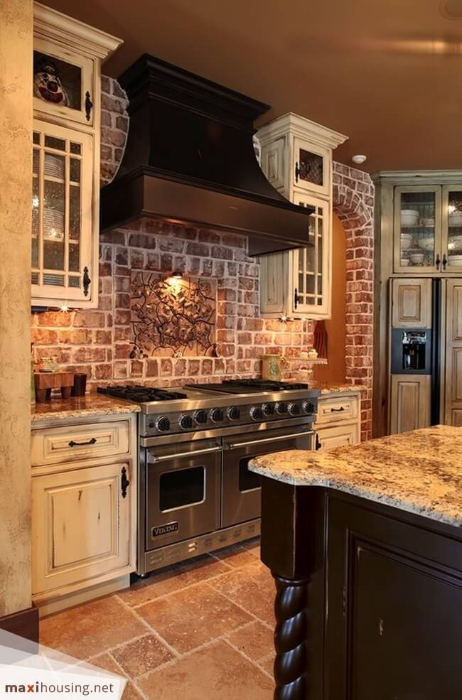 kitchen cabinet ideas rustic photo - 8