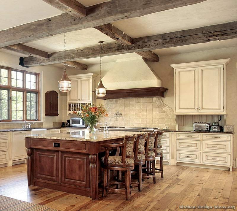 kitchen cabinet ideas rustic photo - 9