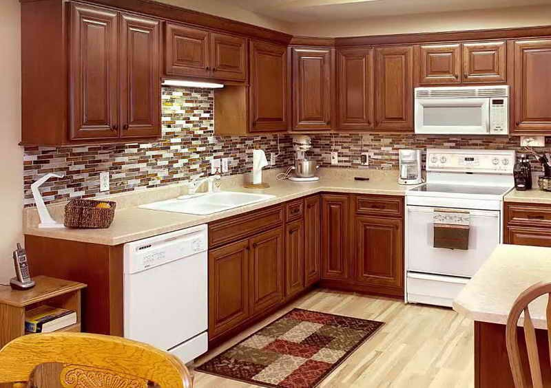 Kitchen Cabinet Stain Colors Home Depot Brooklyn Apartment