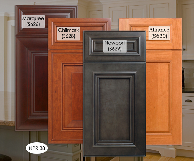 kitchen cabinet stain colours photo - 10