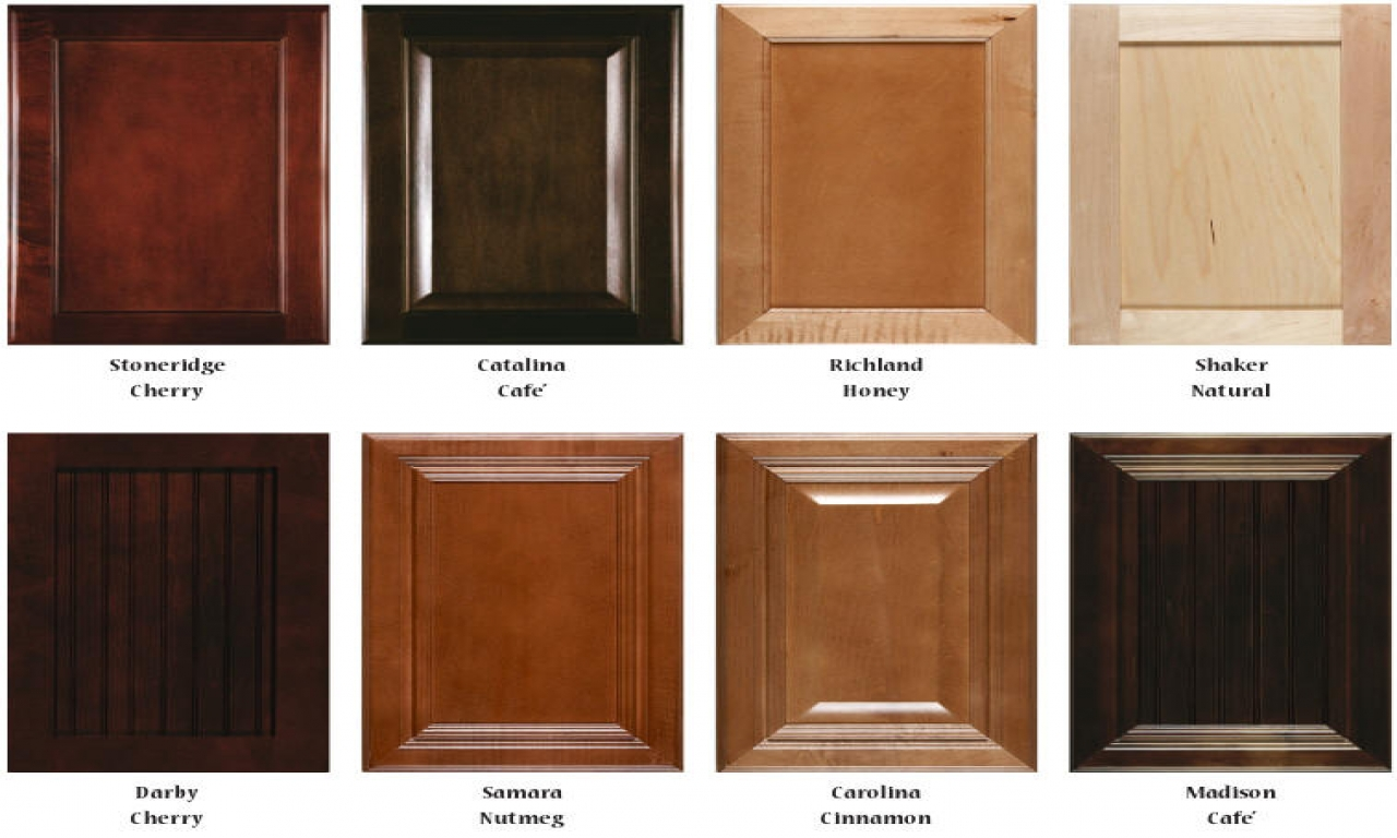 kitchen cabinet stain colours photo - 7