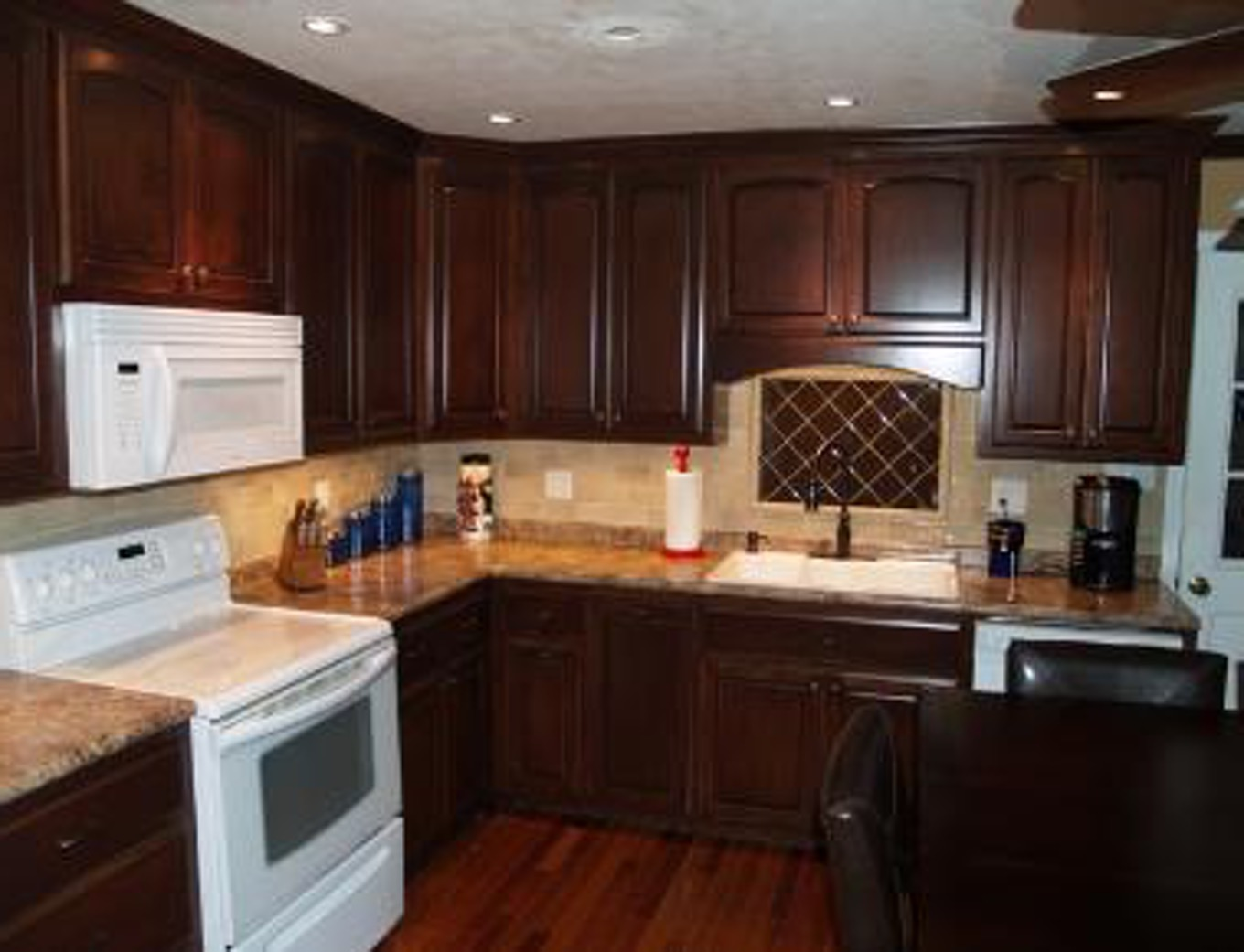 kitchen cabinet stain colours photo - 9