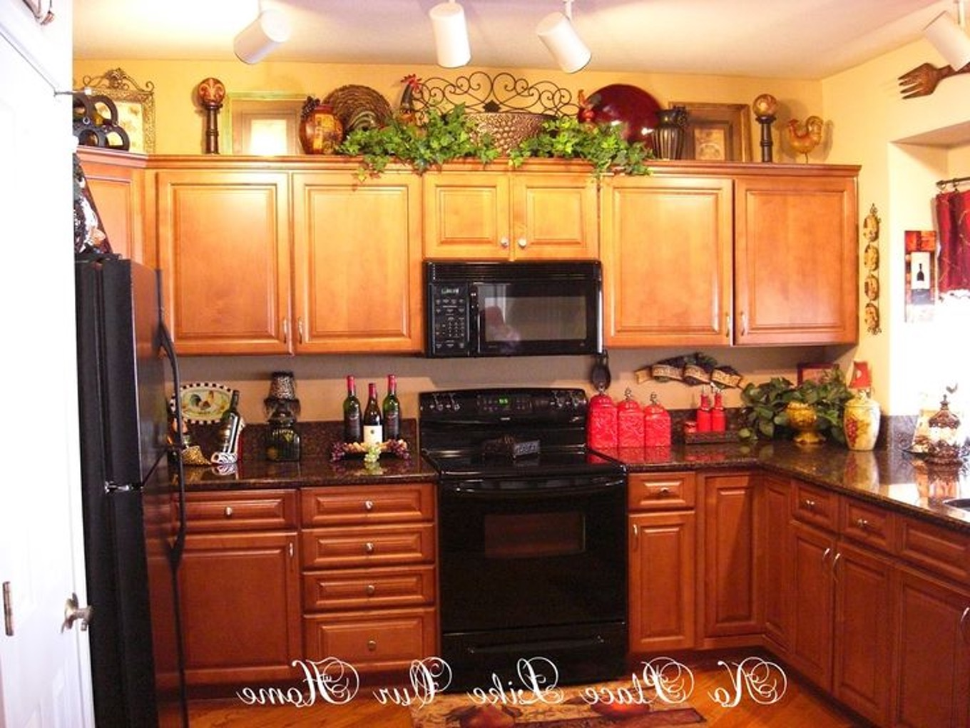 kitchen cabinet topper ideas photo - 1