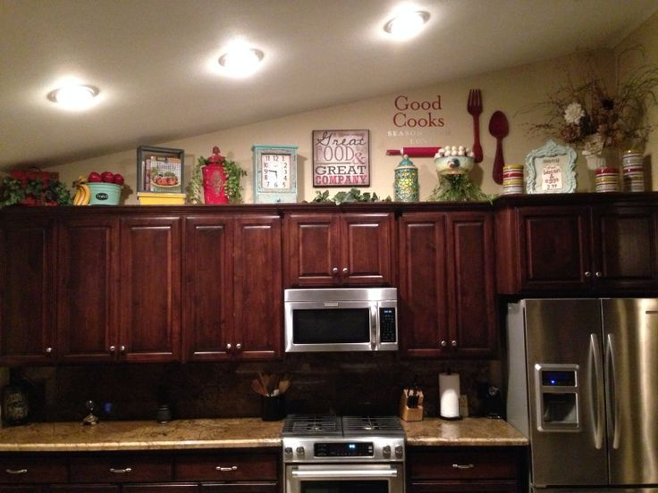 kitchen cabinet topper ideas photo - 3