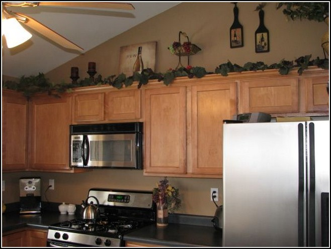 kitchen cabinet topper ideas photo - 6