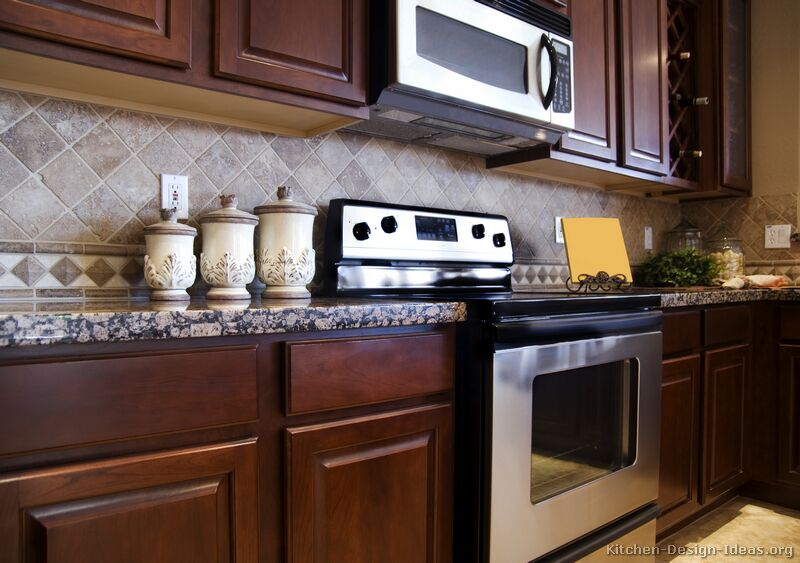 kitchen cabinets backsplash ideas photo - 2