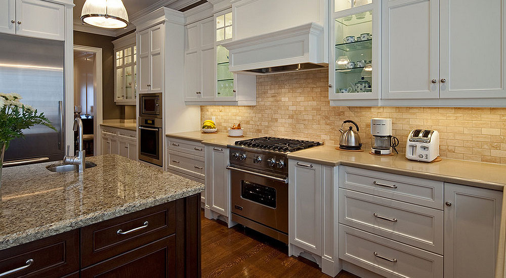 kitchen cabinets backsplash ideas photo - 3