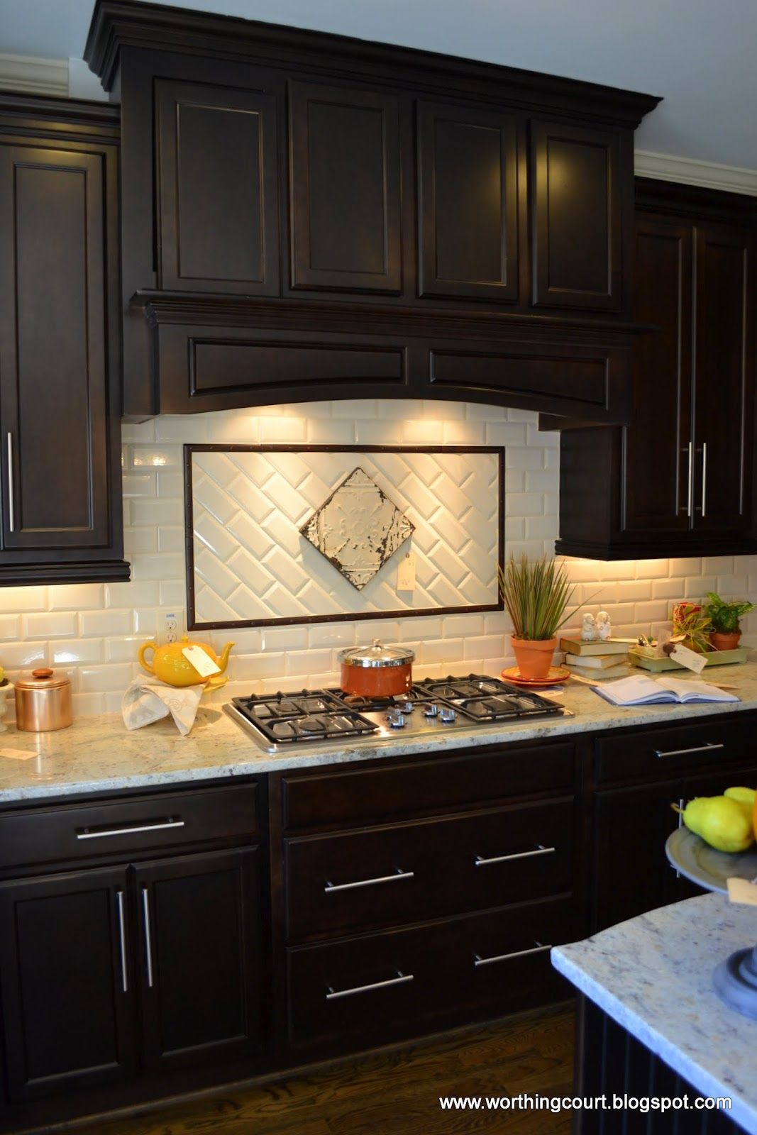 kitchen cabinets backsplash ideas photo - 6